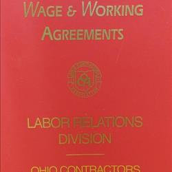 OCA Red Binder For Wage & Working Agreements